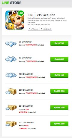 cara mengubah kuota game line get s rich menjadi reguler cara membeli diamond di line let s get rich menggunakan pulsa