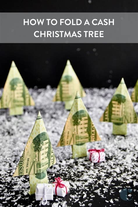 fold dollar into christmas tree 1000 ideas about money origami on dollar bill origami dollar origami and origami