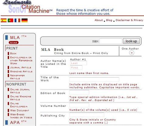 apa format maker for websites apa citation machine for websites free