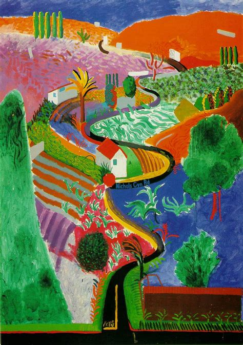 Landscape Pictures By David Hockney Drawing Etc David Hockney S Landscapes