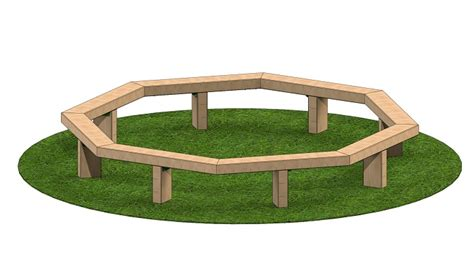 octagon tree bench octagon tree bench large size of garden ideasmetal