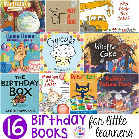 birthday picture books birthday books for learners pocket of preschool