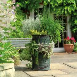 herb planter outdoor pots and planters by