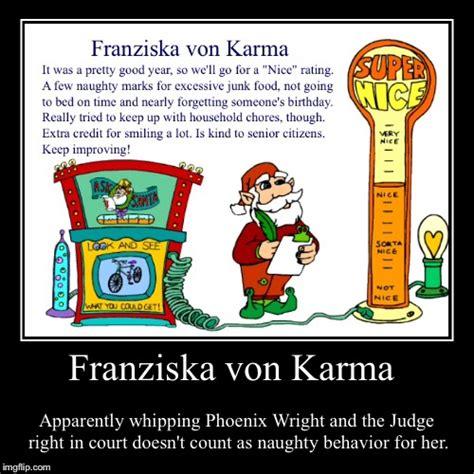 Phoenix Wright Meme Generator - franziska von karma imgflip