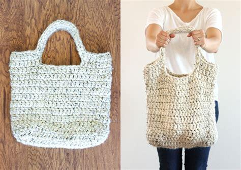 crochet pattern market tote free crochet pattern sturdy market tote