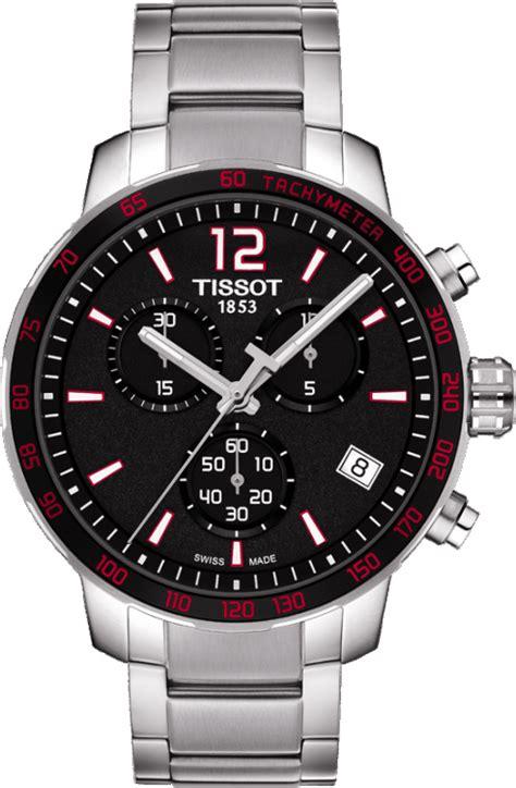 Tissot Quickster T095 t095 417 11 057 00 tissot quickster black quartz