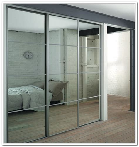Stanley Bifold Mirrored Closet Doors Stanley Mirrored Sliding Closet Doors Jacobhursh