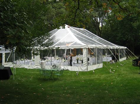Wedding Tents by Rent A Wedding Tent Canopy Chicago Il Chicago Tent
