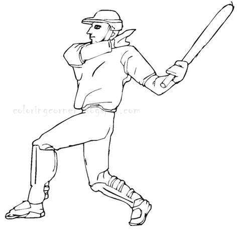 coloring page baseball baseball coloring pages