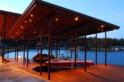 pool boat house lake lbj pool cabana boat house