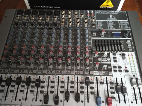 Mixer Behringer Xenyx 1832fx behringer xenyx 1832fx image 1607534 audiofanzine