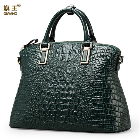 Selling Handmade Bags - qiwang authentic crocodile bag 100 genuine leather