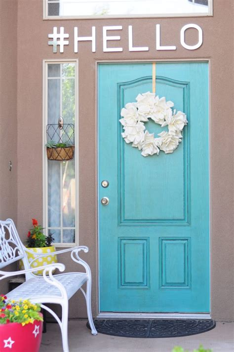 How To Make Your Front Door Appear Larger
