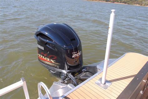 ski boat vs tritoon veranda v22rfl pontoon deck boat magazine