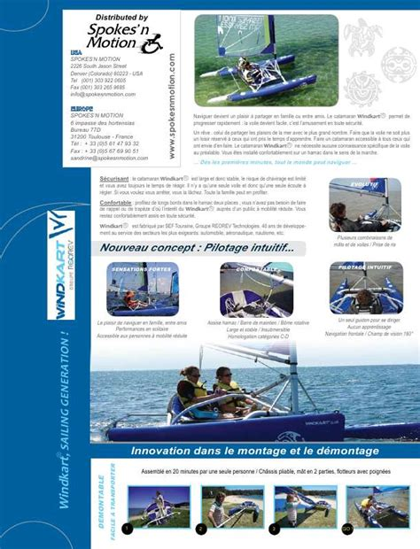 catamaran mde notice windkart catamaran trouver une solution 224 un