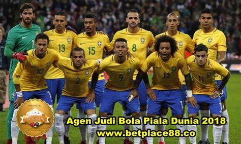 nomor punggung pemain brasil piala dunia 2018 taruhan