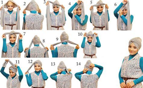 tutorial turban style tutorial hijab modern turban terbaru 2016