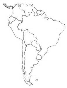 south america map without names quotes