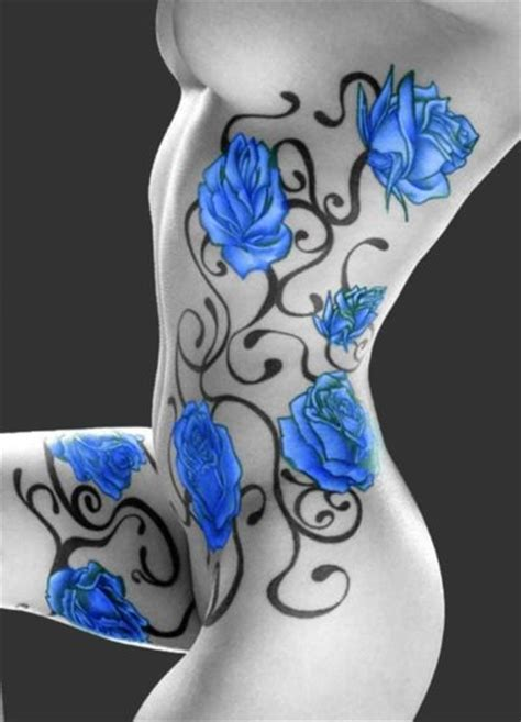blue rose tattoo meaning best 20 blue tattoos ideas on blue roses