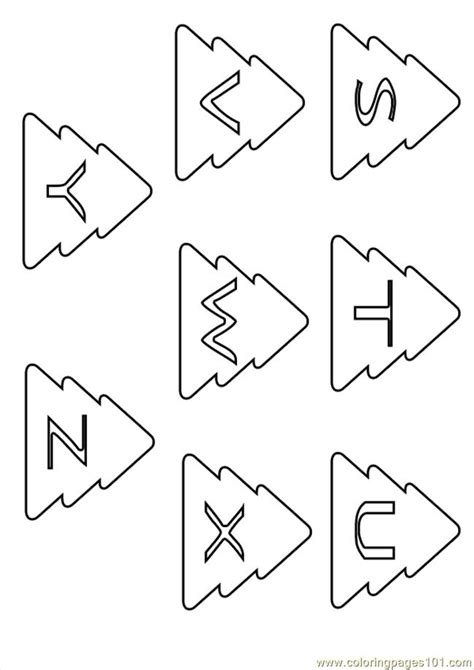 Letter 0 Coloring Pages by Show Me More Letters Colouring Pages