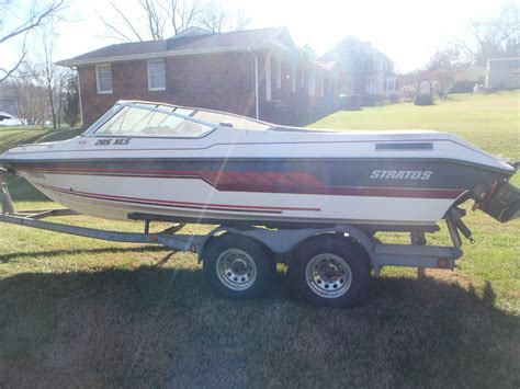 boat trailer lights quit working stratos 205 xls 1989 for sale for 2 000 boats from usa