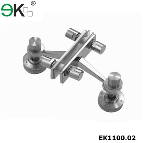 t type stainless steel two way spider fitting 180 degree