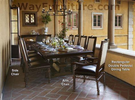 Cleopatra Pedestal 7 Rectangle Dining Room Set By Homey Design Hd 8017 Dt 7 Pc Cera Rectangular Pedestal Dining Room