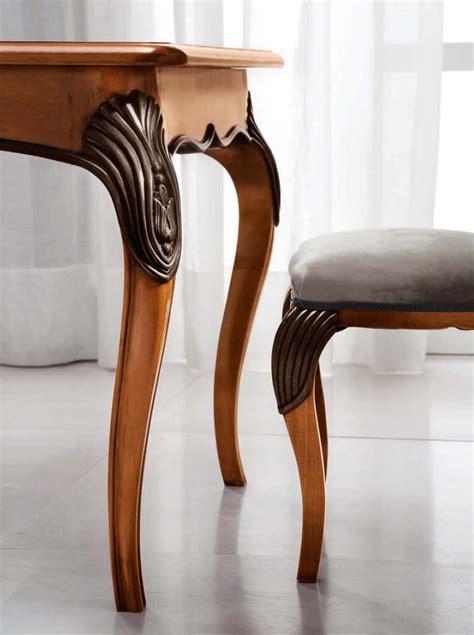 tavoli classici di lusso tavolo rettangolare allungabile per salotti classici di