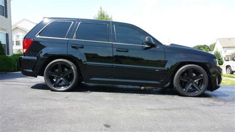 srt8 jeep dropped sell used 2007 jeep srt8 turbo grand 9 second