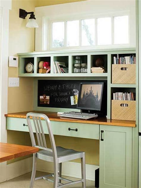 Curbly Roundup Kitchen Office Spaces Curbly Kitchen Desk Organization