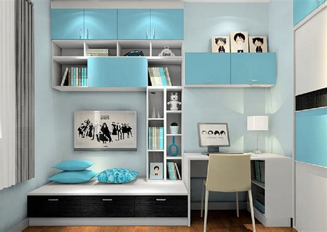 children s room lighting interior design light blue children s bedroom interior design with computer table and wall wall shelf fnw