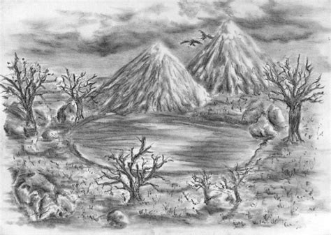 sketchbook landscape landscape sketch i by diamantenstaub on deviantart