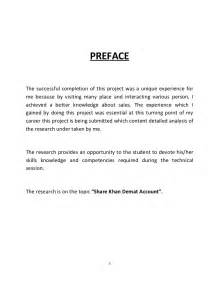 Preface Sample For Project Report Pin Preface Sample For Project Report On Pinterest