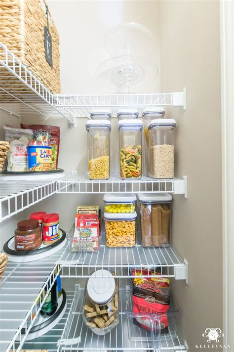 ideas  organize  small pantry  wire shelving