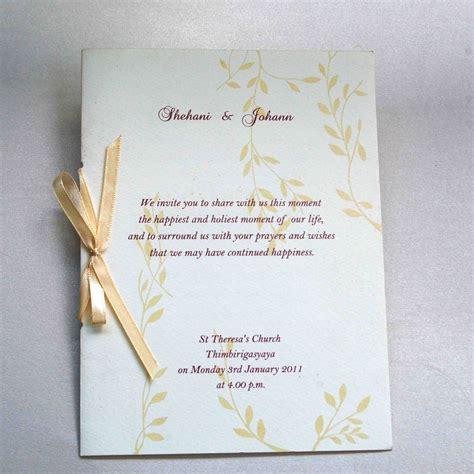 wedding invitations sri lanka wedding invitation wording sri lanka matik for