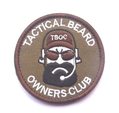 Tactical Beard Brown popular tactical beard patch buy cheap tactical beard patch lots from china tactical beard patch