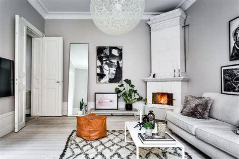 elegan  desain interior scandinavian desain