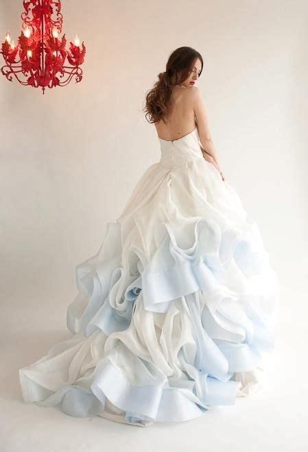 pretty pastel light blue wedding ideas deer pearl flowers
