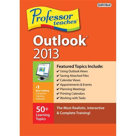 professor teaches outlook 2010 interactiv e traning individual software professor teaches outlook 2013 prf