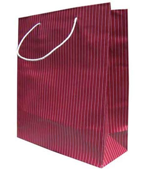 Tas Rajut Kotak Garis tas belanja 2 garis marun tas kertas bandung