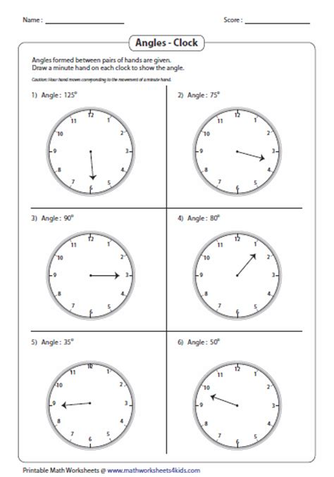 printable math worksheets protractor measuring angles and protractor worksheets