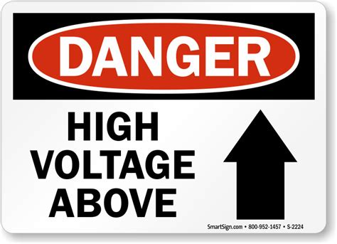 high voltage safety high voltage signs fast free shipping from mysafetysign