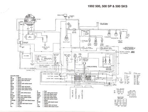 2001 polaris sportsman 500 wiring diagram pdf wiring