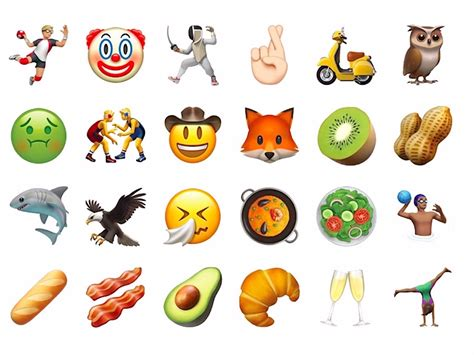 iphone new emojis iphones are much better for emojis than android business insider