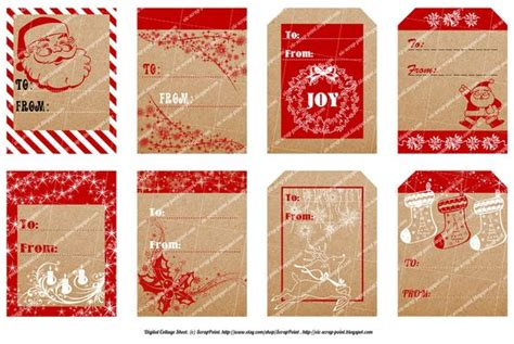 printable christmas journaling tags pinterest the world s catalog of ideas