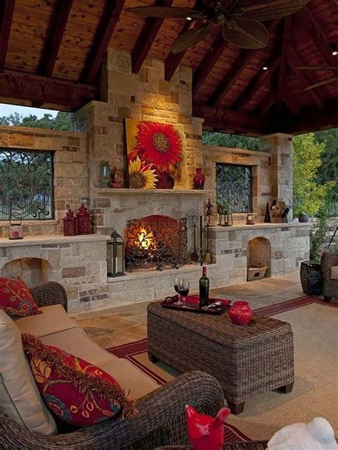 outdoor living room with fireplace 53 most amazing outdoor fireplace designs ever