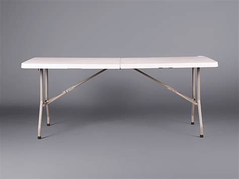 white folding table 6 ft simple white plastic 6ft folding table tables cabinets