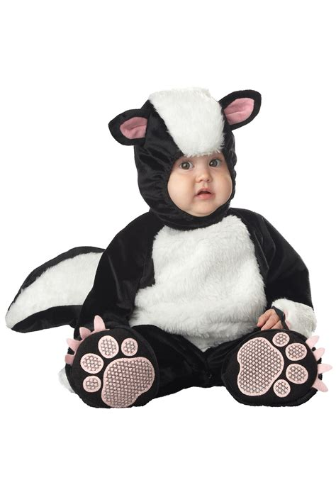 Infant Halloween Costumes Baby Skunk Costume
