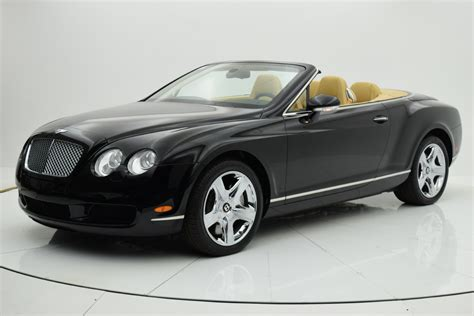 2007 bentley continental convertible used 2007 bentley continental gt convertible for sale