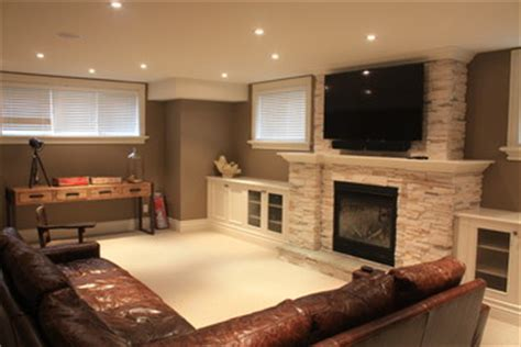 small basement family room ideas basement recreation room contemporary basement toronto